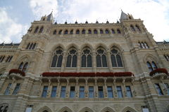 Viena Rathaus Fotografia de Stock Royalty Free