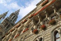 Viena Rathaus Imagens de Stock Royalty Free