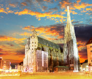 Viena Stephansdom, Áustria Imagem de Stock