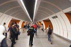 Viena U-Bahn Image stock