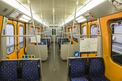 Viena U-Bahn Foto de archivo libre de regalías