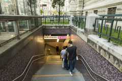 Viena U-Bahn Fotos de archivo