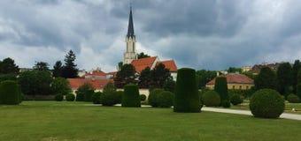 Viena - una de las ciudades visitadas de la Europa fotografía de archivo libre de regalías