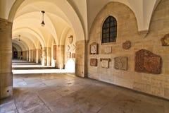 Viena - vestíbulo de la iglesia de los minorites Imagen de archivo libre de regalías