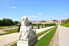 Viena/Wien, Áustria: Belvedere Imagens de Stock Royalty Free
