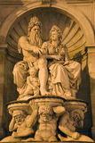 Vienan - fountain by Albertina gallery Stock Images