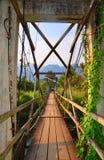 范Vieng Bridge 免版税库存照片