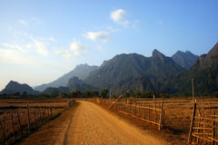 vieng de vang Photos stock