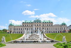 Vienna è vecchia e bella città Fotografie Stock Libere da Diritti