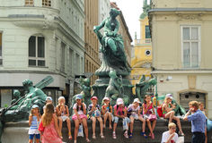 In Vienna Stock Image