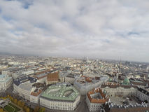 Vienna from above Stock Photography