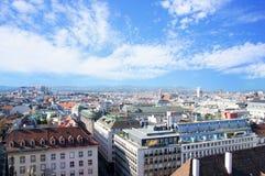 Vienna aerial view Stock Photos