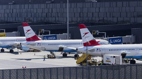 Vienna Airport Terminal Royalty Free Stock Photo