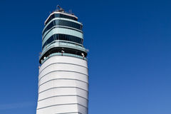 Vienna airport tower royalty free stock photo