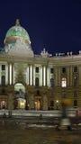 Vienna alla notte Fotografia Stock Libera da Diritti