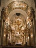 Vienna - altare barrocco da Fotografia Stock Libera da Diritti