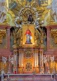 Vienna - altare principale della chiesa barrocco o di Peterskirche di St Peter Fotografia Stock Libera da Diritti