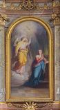 Vienna - Annunciation paint from Servitenkirche Royalty Free Stock Photos