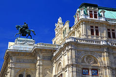 Vienna architecrure Royalty Free Stock Image