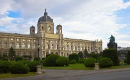 Vienna Art History Museum Royalty Free Stock Photo