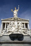 Vienna - Athena fountain for the parliament Royalty Free Stock Images