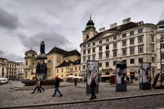 Vienna in Austria Stock Photos