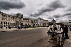Vienna in Austria Royalty Free Stock Photo