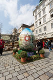 Traditional Easter Market In Vienna Royalty Free Stock Image