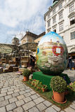Traditional Easter Market In Vienna Royalty Free Stock Photos