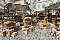 Traditional Easter Market In Vienna Stock Images