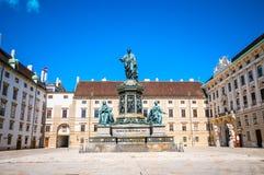 VIENNA, AUSTRIA - APRIL 22, 2016: Castle courtyard In der Burg a Stock Photo