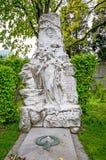 VIENNA, AUSTRIA - APRIL 23, 2016: Tomb of composer Johann Strauss Royalty Free Stock Photos
