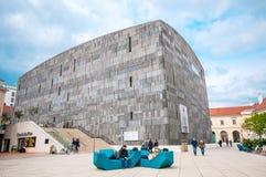 VIENNA, AUSTRIA - APRIL 23, 2016: View of Museum Quarter (MQW) Royalty Free Stock Photos