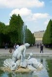 VIENNA, AUSTRIA - 30 aprile 2017: Fontana di Venere nei giardini di Schonbrunn I giardini di Schonbrunn sono uno degli più import Immagine Stock