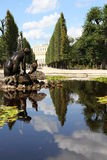 VIENNA, AUSTRIA - August 25 Fountain in Schonbrunn Castle park o Royalty Free Stock Images