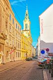 Reformed City Church on Dorotheergasse in Vienna Royalty Free Stock Photos