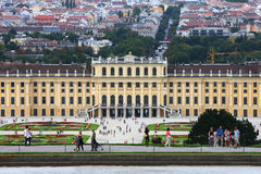 Schonbrunn Palace,Vienna Royalty Free Stock Image