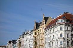 Vienna Austria buildings. Historic building facades in Vienna Austria Royalty Free Stock Images
