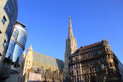 Vienna, Austria Cathedral Royalty Free Stock Image