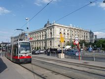 Museumsquartier in Vienna Royalty Free Stock Photos