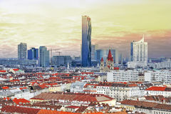 Vienna, Austria. Vienna city, Austria views of down town Royalty Free Stock Photography