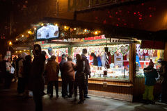 Christmas market in Vienna, Austria Stock Images
