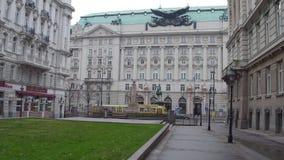 VIENNA, AUSTRIA - DECEMBER, 24 Office of Burghauptmannschaft Osterreich Royalty Free Stock Images