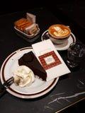 Original Sacher Torte stock photos