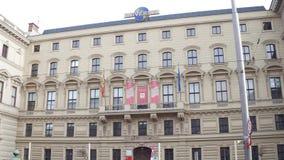 VIENNA, AUSTRIA - DICEMBRE, 24 uffici di Universal Music Immagine Stock