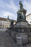 VIENNA, AUSTRIA, E.U. - JUNE 05, 2016: Monument to Emperor Franz Stock Images