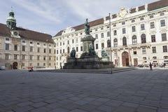 VIENNA, AUSTRIA, E.U. - JUNE 05, 2016: Monument to Emperor Franz Royalty Free Stock Image
