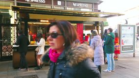 Fast food kiosk in Vienna, Austria