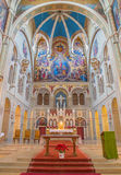 VIENNA, AUSTRIA - FEBRUARY 17, 2014: Presbytery of Carmelites church Royalty Free Stock Photography