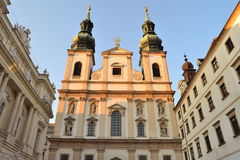 Vienna, Austria. Jesuit Church Royalty Free Stock Photos
